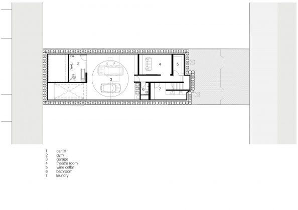 Современный дом из Викторианской резиденции проект студии Architecton 16