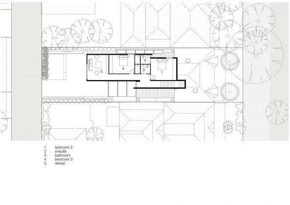 Современный дом из Викторианской резиденции проект студии Architecton 18