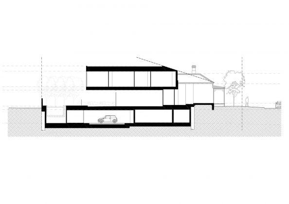 Современный дом из Викторианской резиденции проект студии Architecton 19