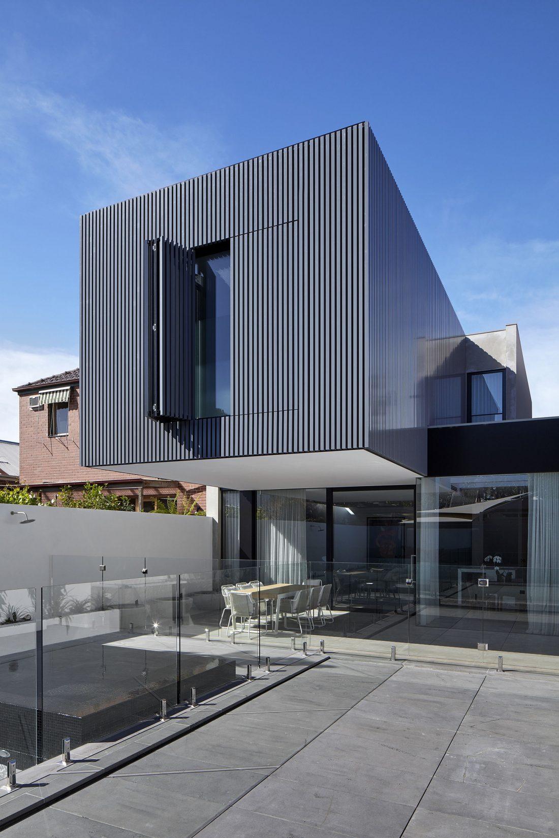 Современный дом из Викторианской резиденции проект студии Architecton 4