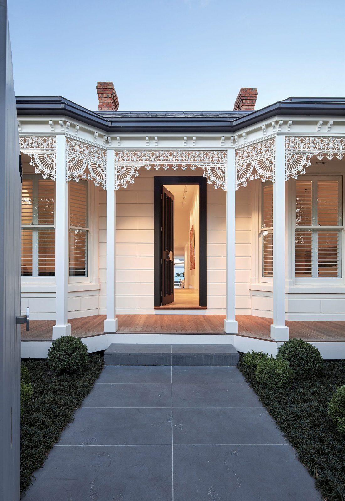 Современный дом из Викторианской резиденции проект студии Architecton 5