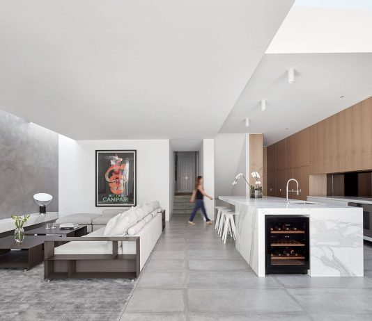 Современный дом из Викторианской резиденции проект студии Architecton 6