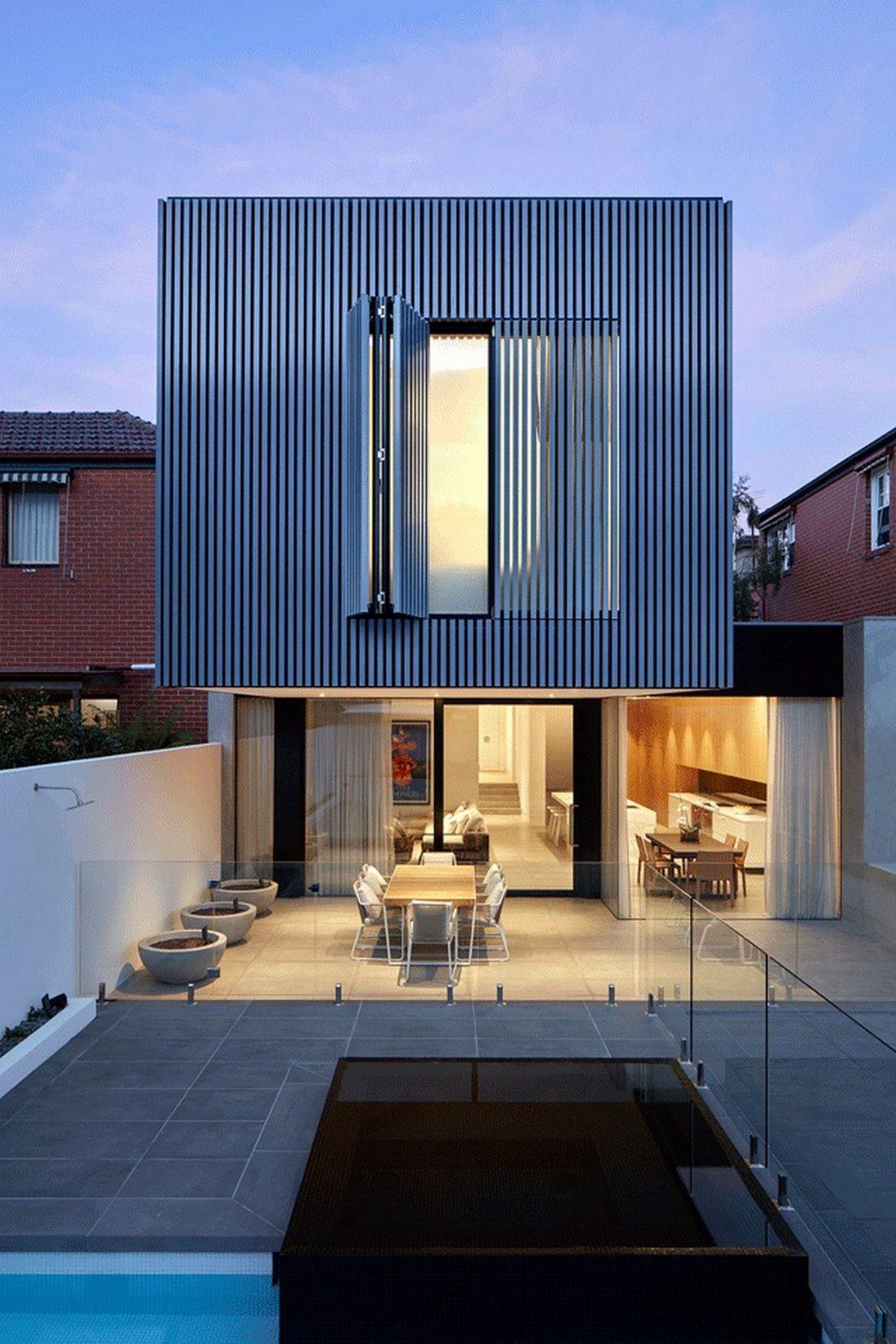 Современный дом из Викторианской резиденции проект студии Architecton 8