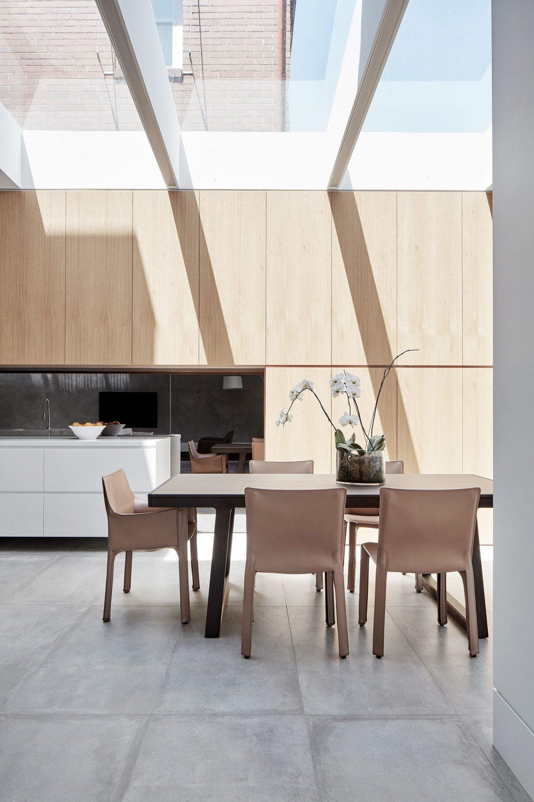 Современный дом из Викторианской резиденции проект студии Architecton 9