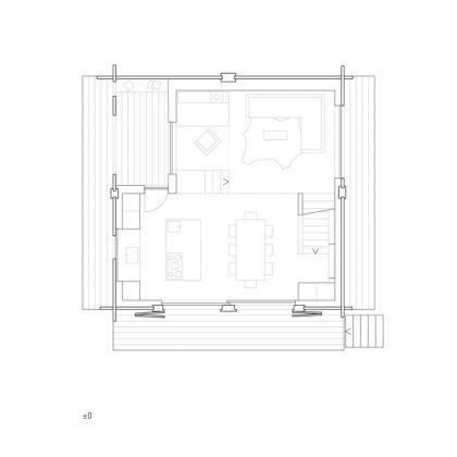 Современный дом из старого амбара в Швейцарии от студии Savioz Fabrizzi Architectes 15