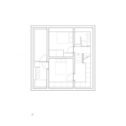 Современный дом из старого амбара в Швейцарии от студии Savioz Fabrizzi Architectes 16