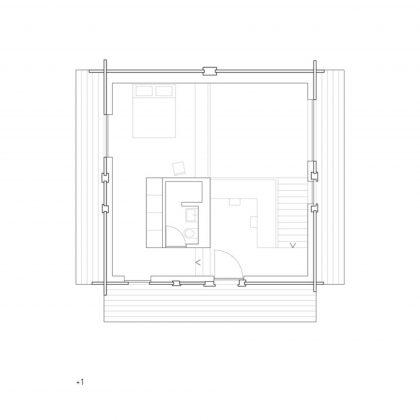 Современный дом из старого амбара в Швейцарии от студии Savioz Fabrizzi Architectes 17