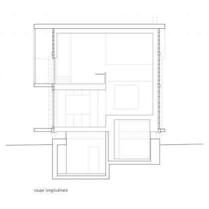 Современный дом из старого амбара в Швейцарии от студии Savioz Fabrizzi Architectes 18