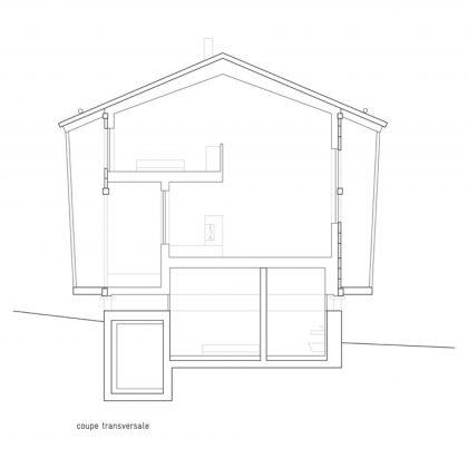 Современный дом из старого амбара в Швейцарии от студии Savioz Fabrizzi Architectes 19