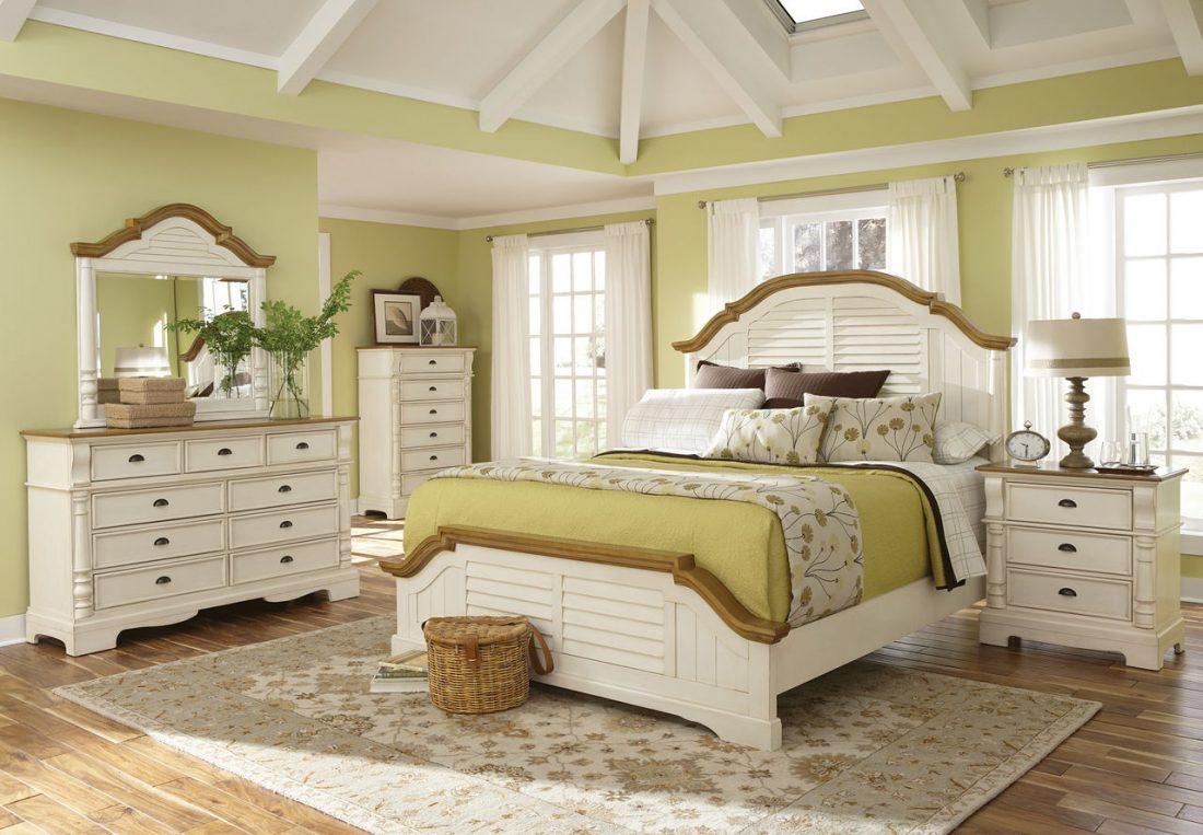 Спальня в стиле прованс 11