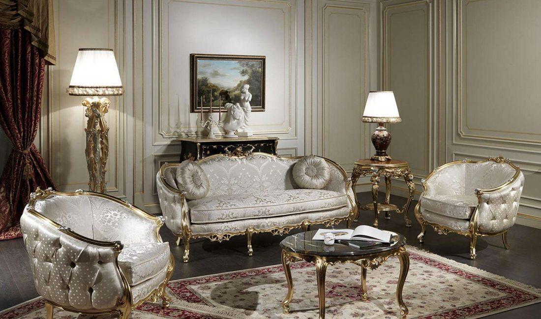 Стиль модерн в интерьере гостиной 3