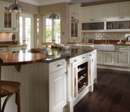 Стиль модерн в интерьере кухни 10