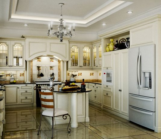 Стиль модерн в интерьере кухни 2
