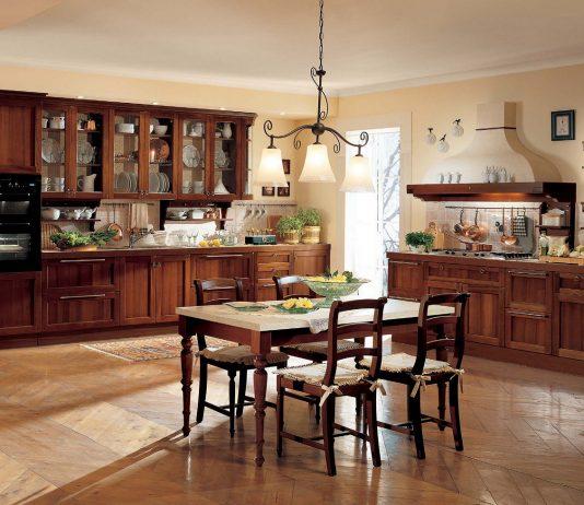 Стиль модерн в интерьере кухни 3