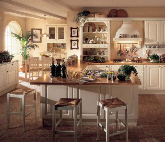 Стиль модерн в интерьере кухни 6