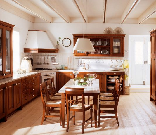 Стиль модерн в интерьере кухни 7