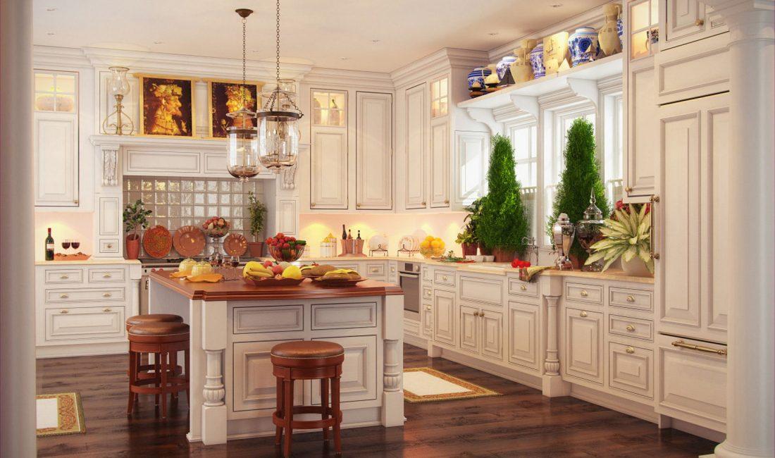 Стиль модерн в интерьере кухни 8