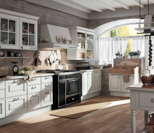 Стиль модерн в интерьере кухни 9