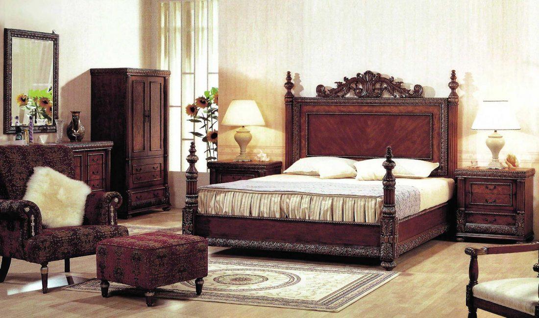 Стиль модерн в интерьере спальни 11