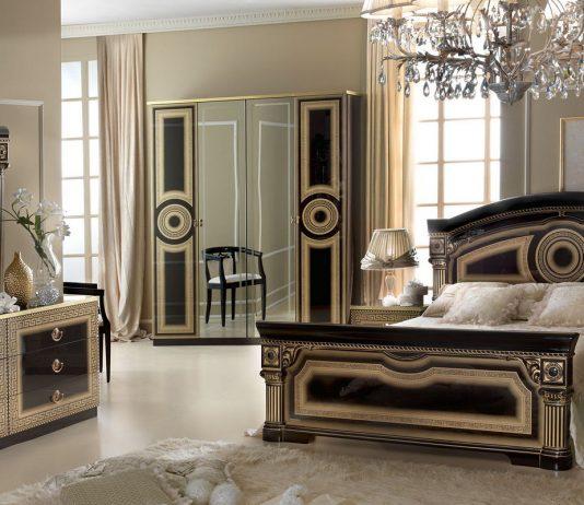 Стиль модерн в интерьере спальни 12