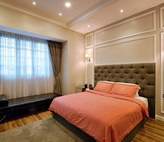 Стиль модерн в интерьере спальни 15
