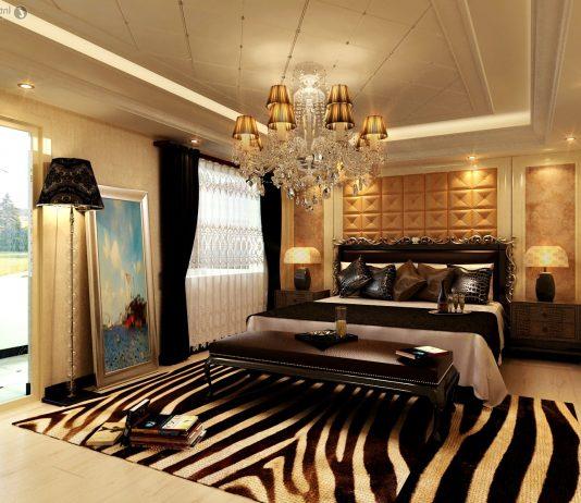 Стиль модерн в интерьере спальни 16
