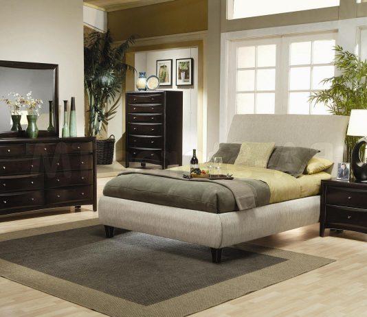 Стиль модерн в интерьере спальни 19