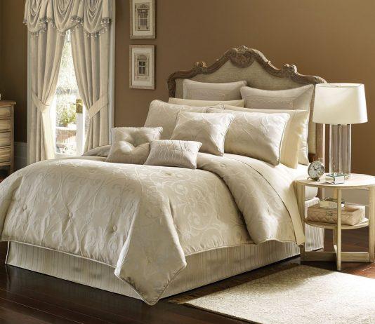 Стиль модерн в интерьере спальни 25