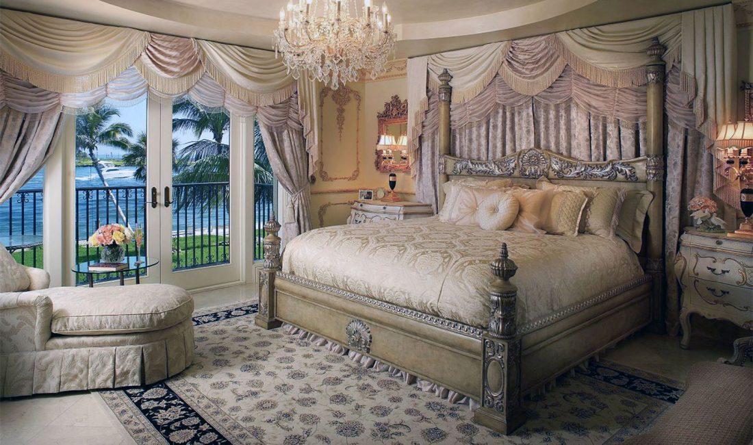 Стиль модерн в интерьере спальни 3