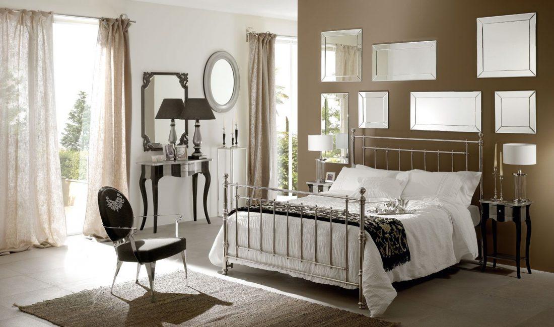 Стиль модерн в интерьере спальни 5