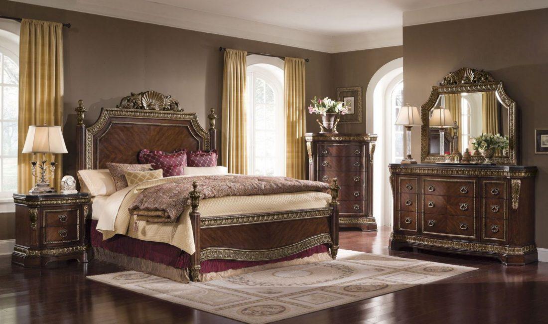 Стиль модерн в интерьере спальни 6