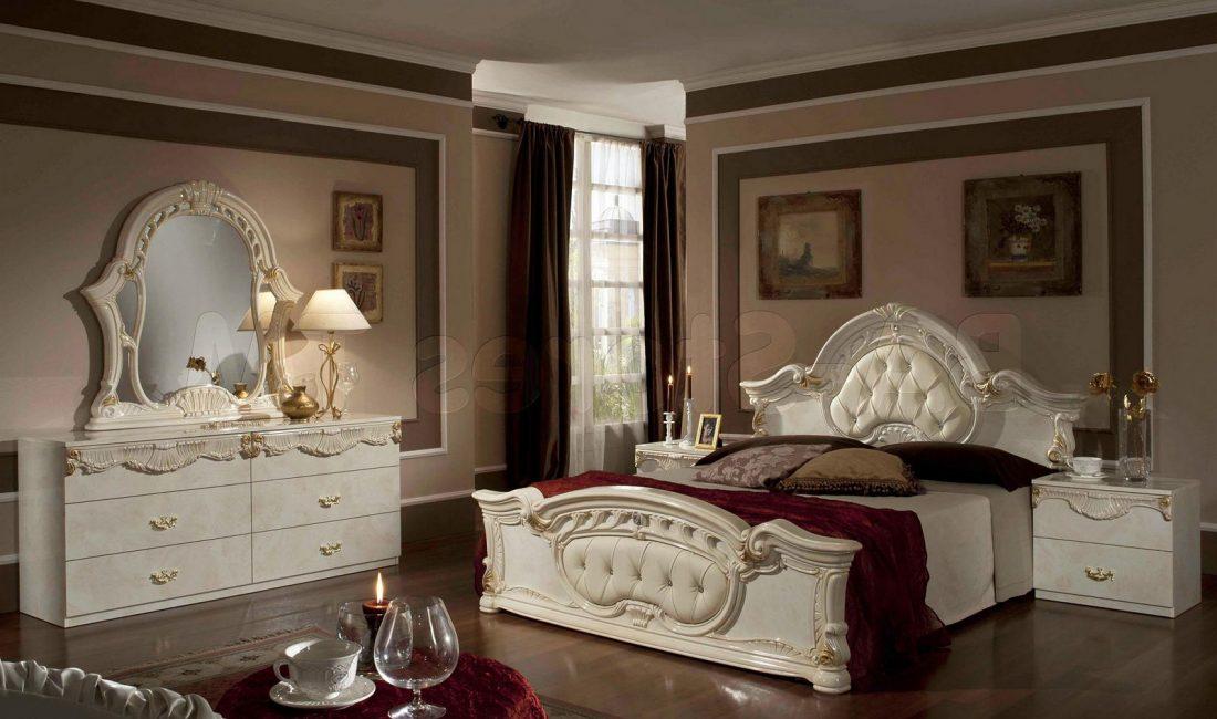 Стиль модерн в интерьере спальни 7