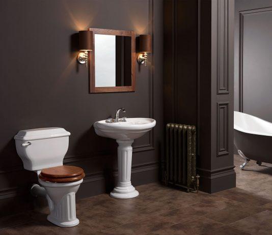 Стиль модерн в интерьере ванной комнаты 16