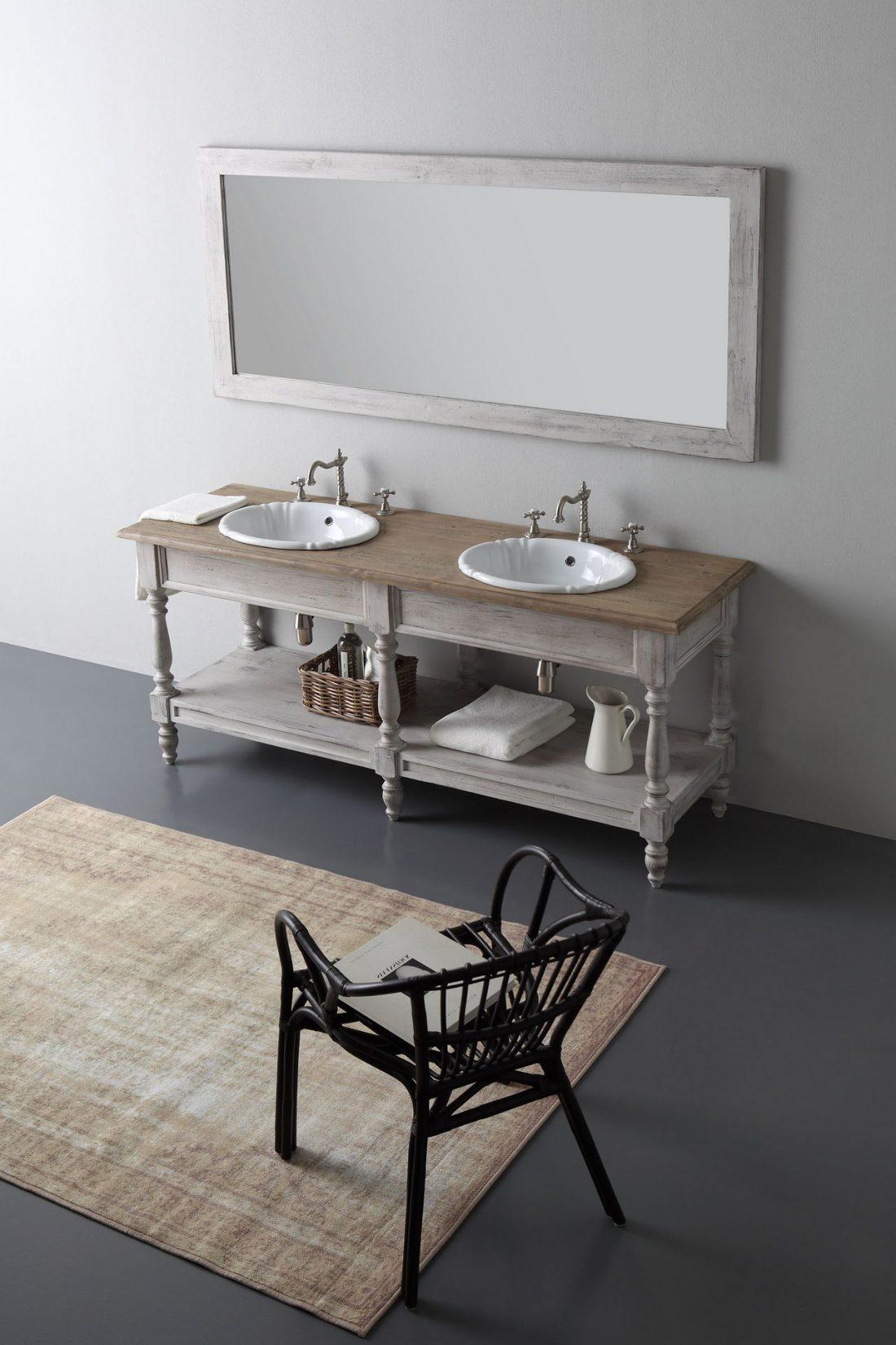 Ванная комната в стиле прованс 5