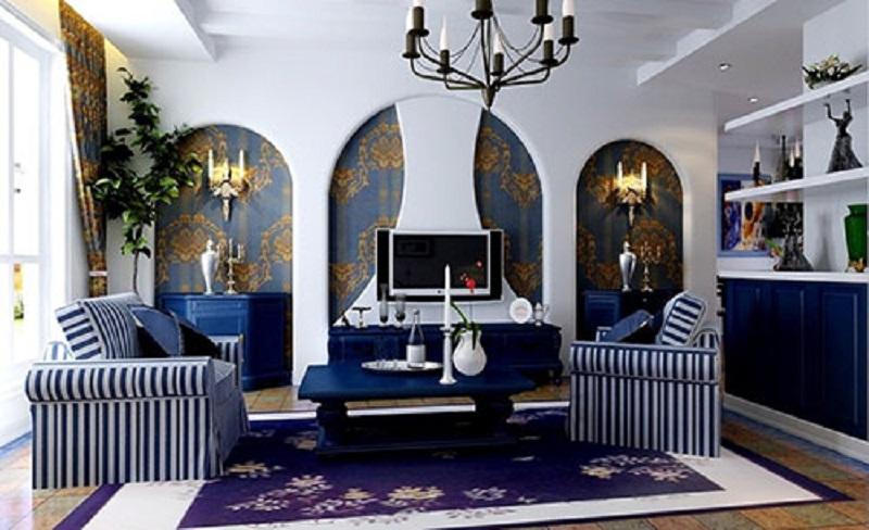 Средиземноморский стиль в интерьере