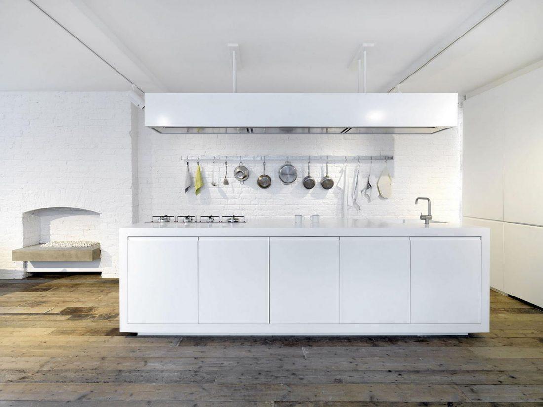Дизайн интерьера квартиры в стиле лофт 17