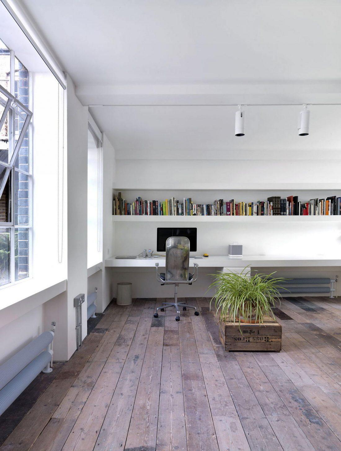 Дизайн интерьера квартиры в стиле лофт 18
