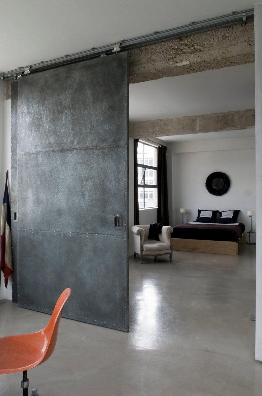 Дизайн интерьера квартиры в стиле лофт 19
