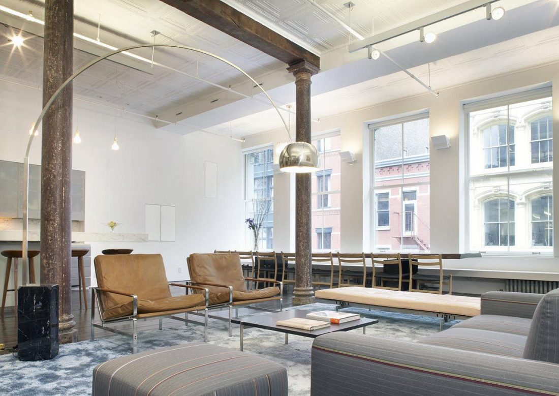 Дизайн интерьера квартиры в стиле лофт 22