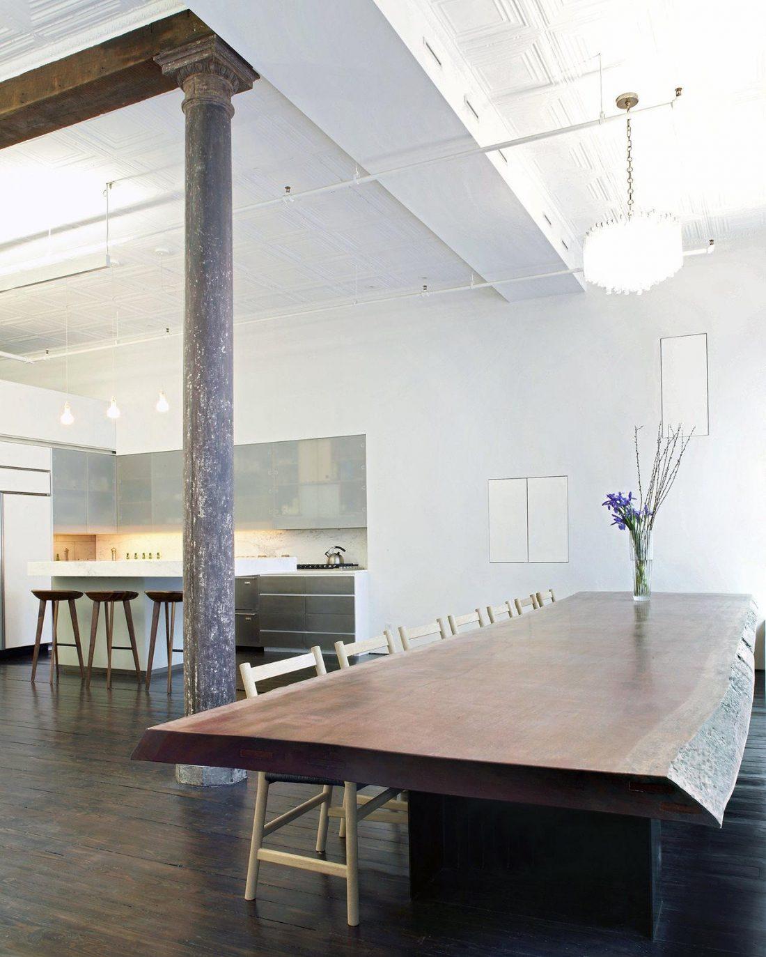 Дизайн интерьера квартиры в стиле лофт 26