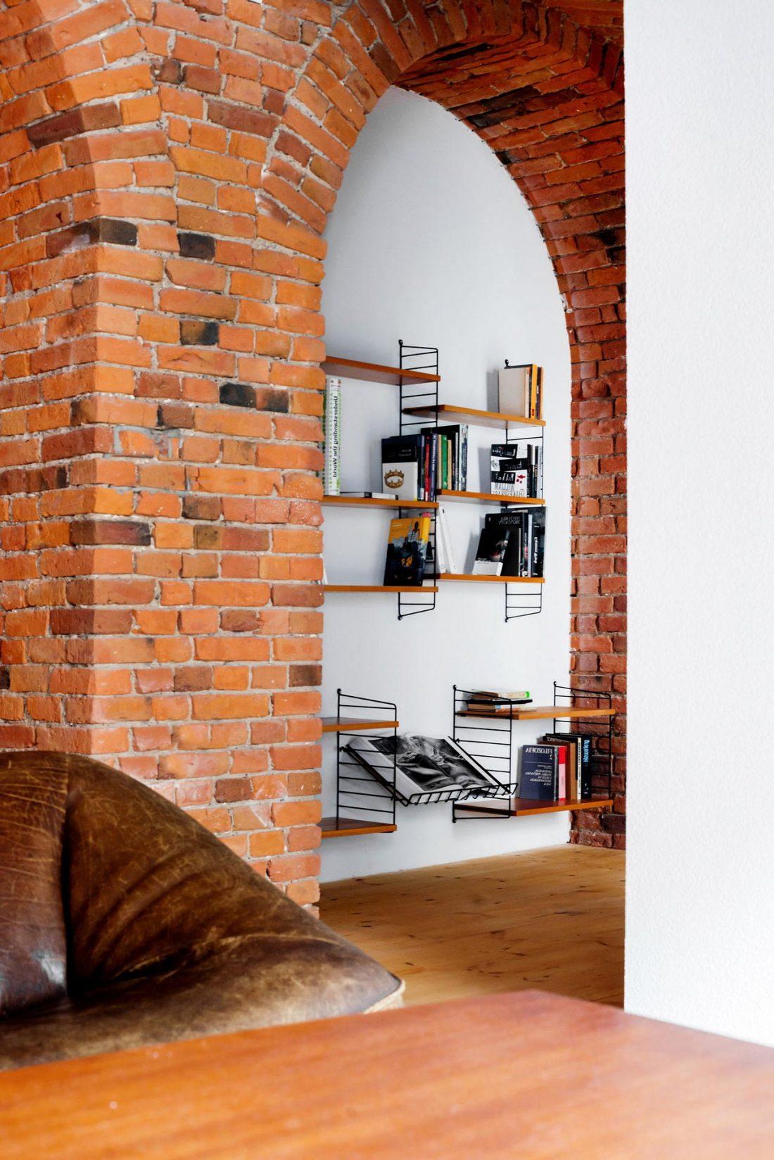Дизайн интерьера квартиры в стиле лофт 29