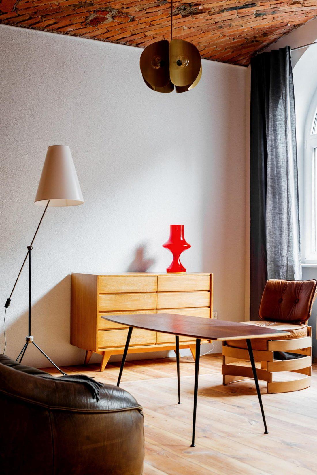 Дизайн интерьера квартиры в стиле лофт 30