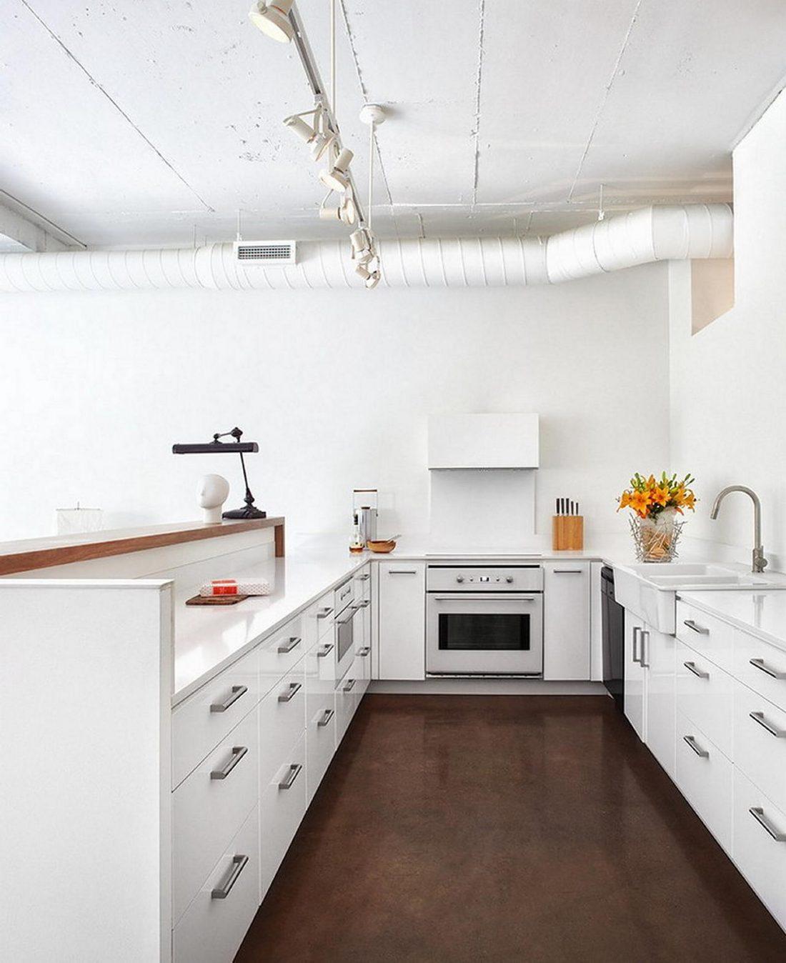 Дизайн интерьера квартиры в стиле лофт 31