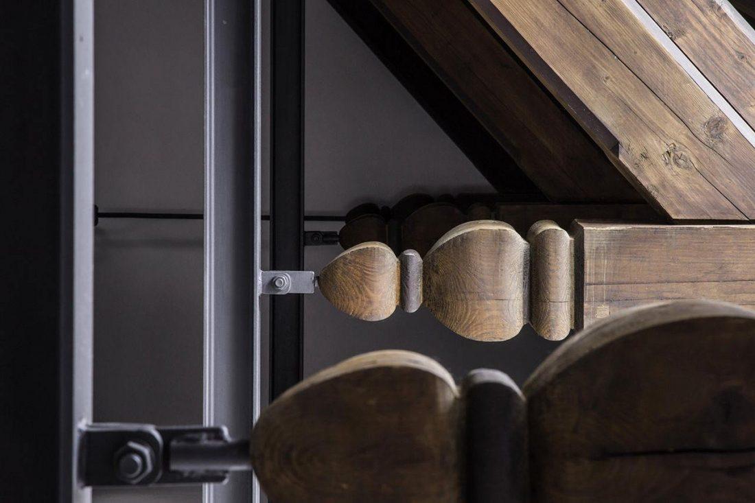 Дизайн интерьера квартиры в стиле лофт 37