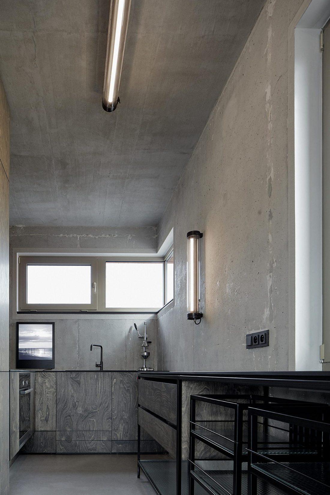 Дизайн интерьера квартиры в стиле лофт 44