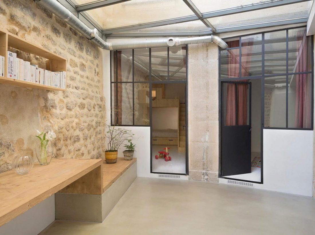 Дизайн интерьера квартиры в стиле лофт 47