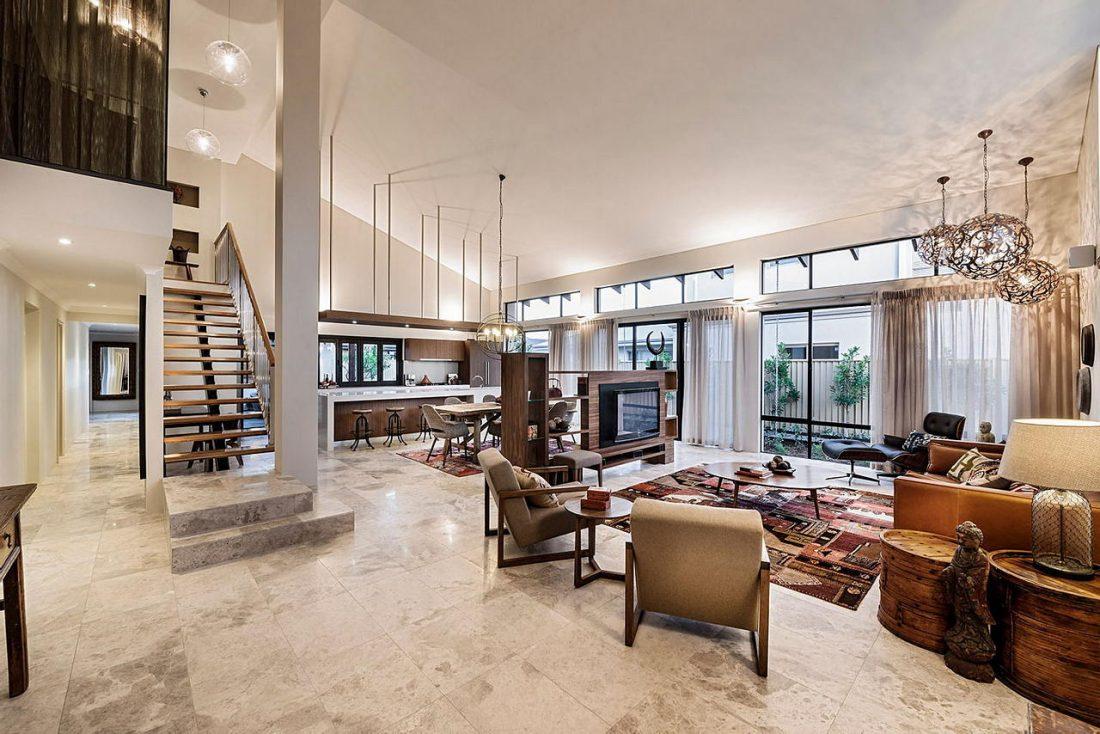 Дизайн интерьера квартиры в стиле лофт 49