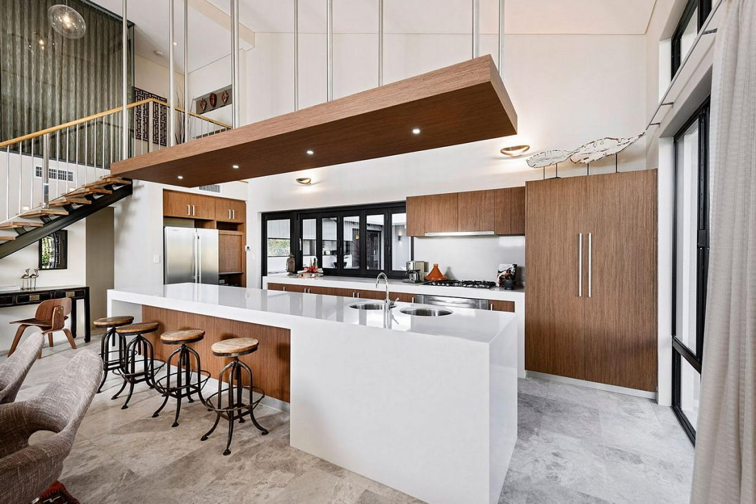 Дизайн интерьера квартиры в стиле лофт 51