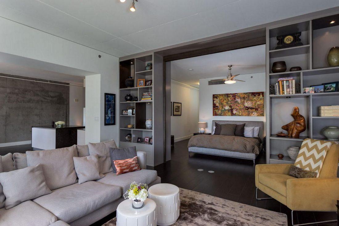 Дизайн интерьера квартиры в стиле лофт 54