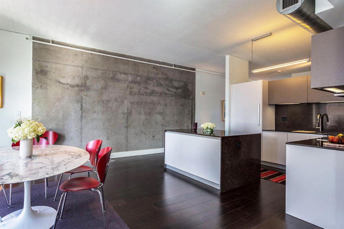 Дизайн интерьера квартиры в стиле лофт 57